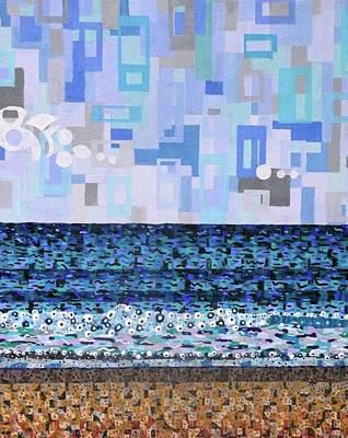 Atlantic Beach Art Print by Micah Mullen