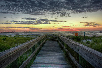Photograph - Atlantic Beach Sunrise by Dan Myers