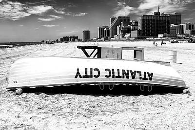 Photograph - 2006 Atlantic City Beach by John Rizzuto