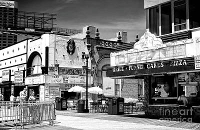 Photograph - Atlantic City Boardwalk Dining by John Rizzuto