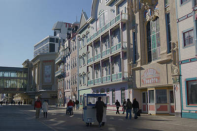 Photograph - Atlantic City Boardwalk by Margie Avellino