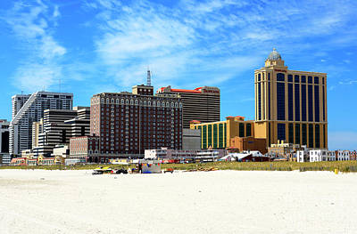 Photograph - Atlantic City Casino View 2006 by John Rizzuto