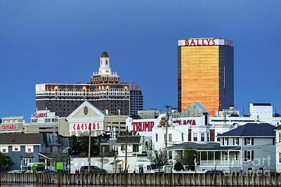 Atlantic City Casinos Print by John Greim