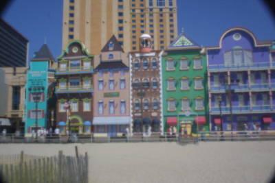 Atlantic City Art Print
