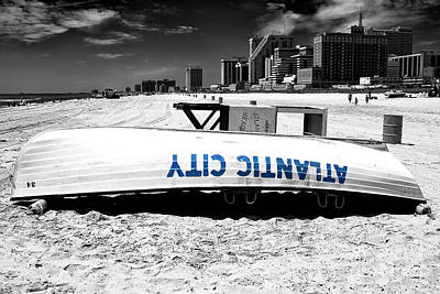 Photograph - Atlantic City Fusion by John Rizzuto