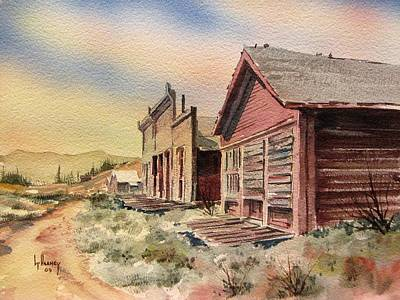 Atlantic City Ghost Town Wyoming Art Print by Kevin Heaney