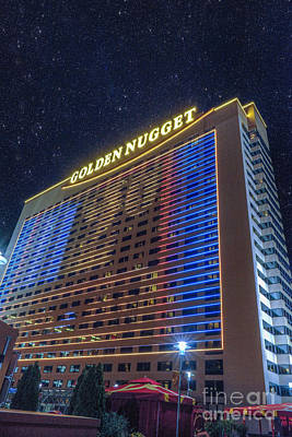 Photograph - Atlantic City Golden Nugget by David Zanzinger