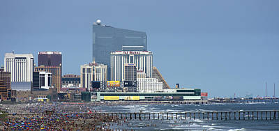 Photograph - Atlantic City July 3 2015 by Paul Ross