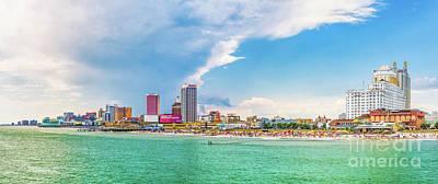 Photograph - Atlantic City  New Jersey by Nick Zelinsky