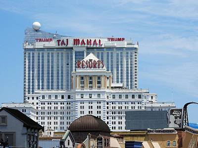 Photograph - Atlantic City New Jersey Usa by Allen Beilschmidt