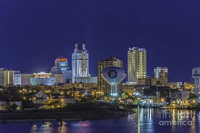 Photograph - Atlantic City Resort Hotels 2 by David Zanzinger