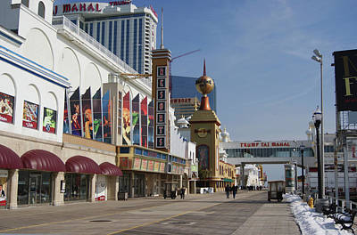 Photograph - Atlantic City Resorts       by Margie Avellino