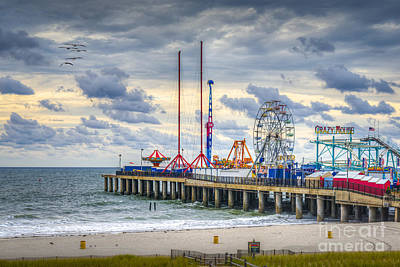 Photograph - Luxury Sanctuary Steel Pier by David Zanzinger