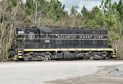 Photograph - Atlantic Coast Line Gp7 #100 by John Black