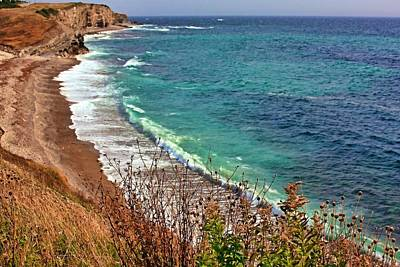 Photograph - Atlantic Coastline In Newfoundland by Tatiana Travelways