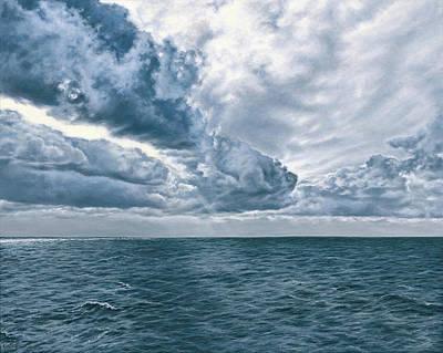 Big Sky Painting - Atlantic by Darrel Kanyok