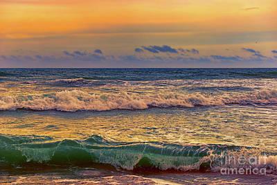 Photograph - Atlantic Dawn Hutchinson Island by Olga Hamilton