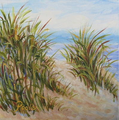 Painting - Atlantic Dunes by Pamela Poole