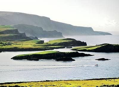 Polaroid Camera - Atlantic edge of Iveragh. Kerry, Ireland by David Lyons