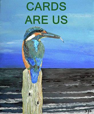 Kingfisher Mixed Media - Atlantic Fishing by Eric Kempson