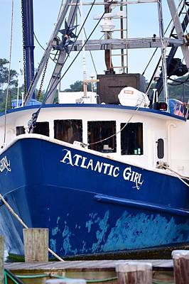 Photograph - Atlantic Girl - West Ocean City Harbor by Kim Bemis