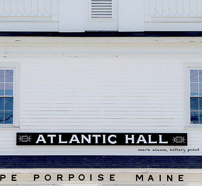 Photograph - Atlantic Hall by Mark Alesse