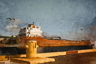 Photograph - Atlantic Huron by WB Johnston