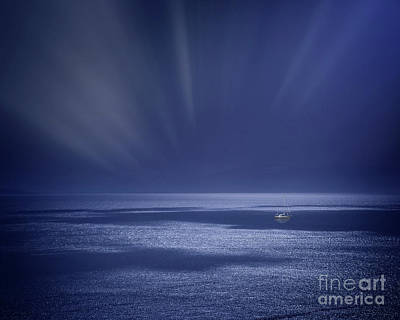 Photograph - Atlantic Night by Edmund Nagele