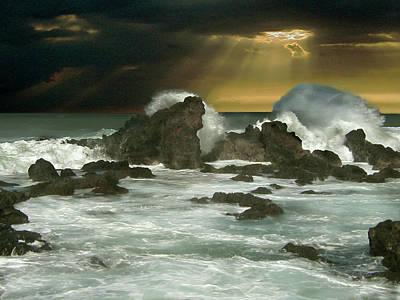 Digital Art - Atlantic Nor'easter by Michaelalonzo Kominsky