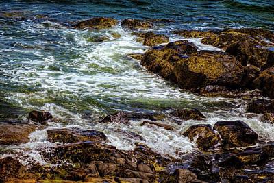 Photograph - Atlantic - North Shore by Lilia D