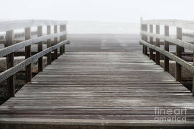 Photograph - Atlantic Ocean Fog  by Dale Powell