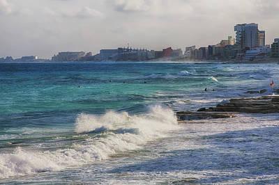 Photograph - Atlantic Ocean In Cancun by Tatiana Travelways