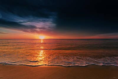 Nauset Beach Photograph - Atlantic Ocean Sunrise 2015 by Dapixara