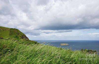 Photograph - Atlantic Ocean View In Northern Ireland Near Ballycastle by Vizual Studio