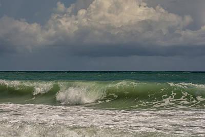 Waves Photograph - Atlantic Ocean by Zina Stromberg