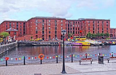 Photograph - Albert Dock - Liverpool by Doc Braham