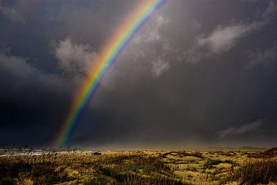 Photograph - Atlantic Rainbow  by John Harding