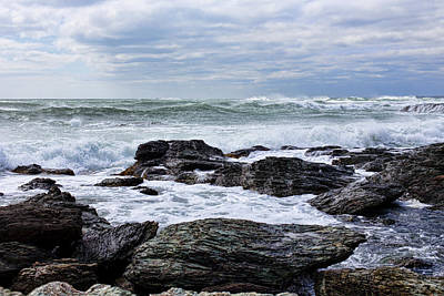Photograph - Atlantic Scenery by Andrew Pacheco