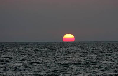 Atlantic Sunrise Art Print by Allan Levin
