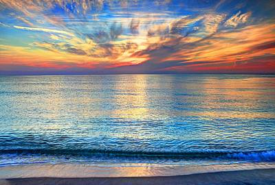 Photograph - Atlantic Sunrise  by Carol Montoya