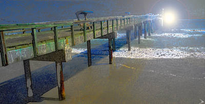 Painting - Atlantic Sunrise by David Lee Thompson