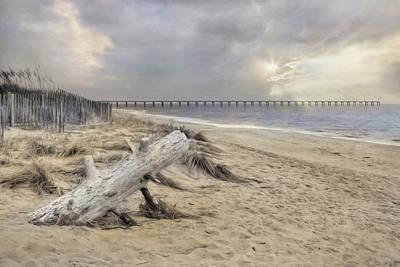 Rehoboth Photograph - Atlantic Sunrise by Lori Deiter