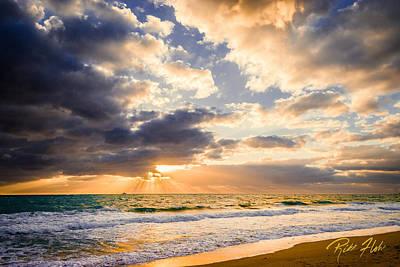 Photograph - Atlantic Sunrise by Rikk Flohr