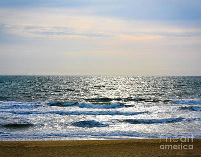 Photograph - Atlantic Sunrise - Sandbridge Virginia by John Waclo