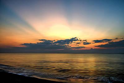 Photograph - Atlantic Sunrise by Maria Coulson