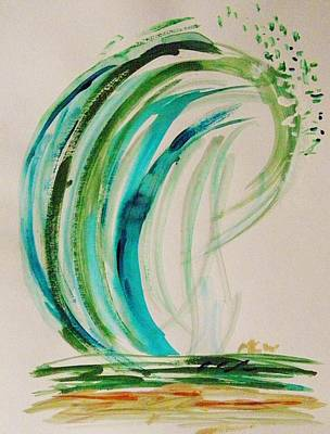Painting - Atlantic Wave by Mary Carol Williams