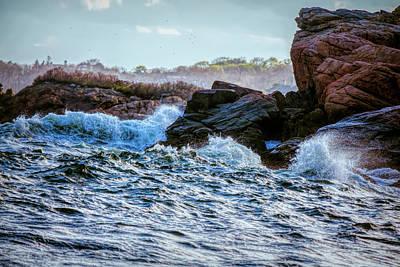 Photograph - Atlantic Waves 2 by Lilia D
