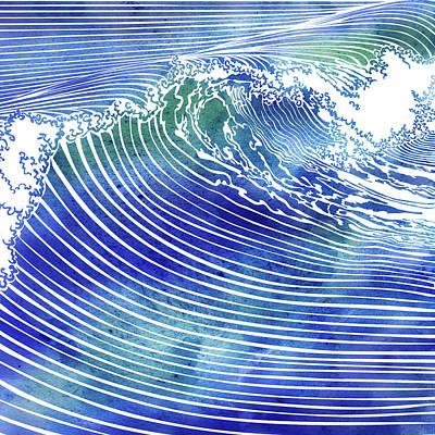 Atlantic Waves Art Print