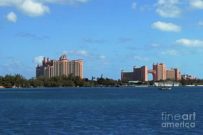 Photograph - Atlantis, Bahamas by Gary Wonning