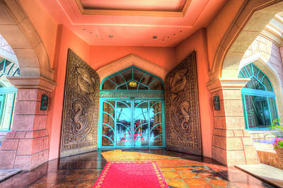 Photograph - Atlantis Palm Hotel Entrance by David Pyatt
